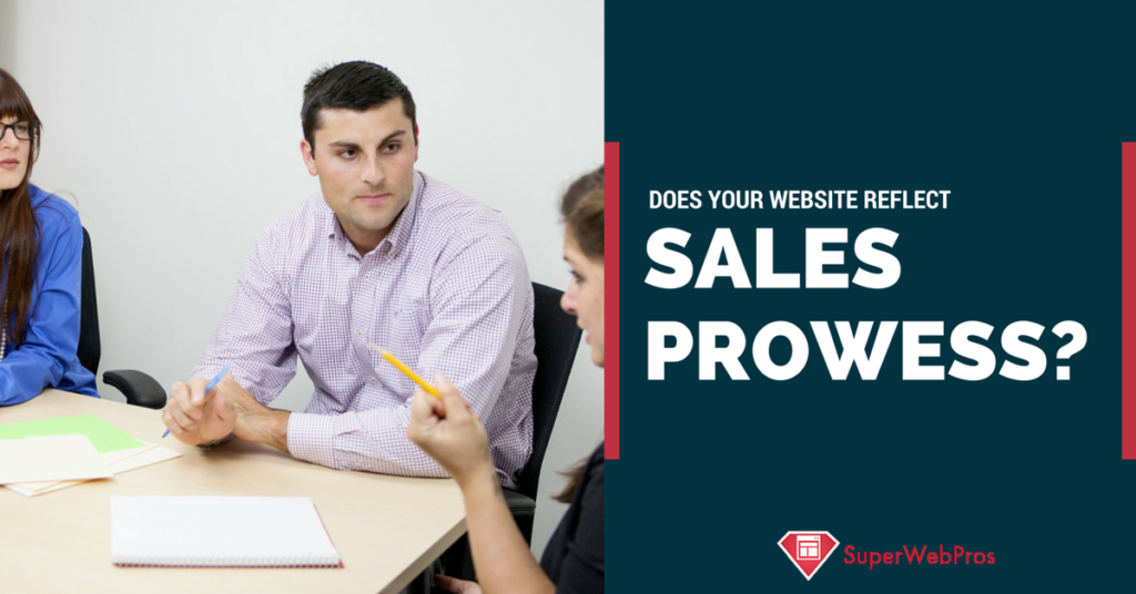 Does Your Website Content Reflect Your Personal Sales Prowess?